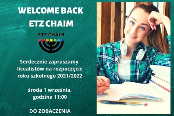 Nowy rok szkolny w liceum Etz Chaim, Wrocław